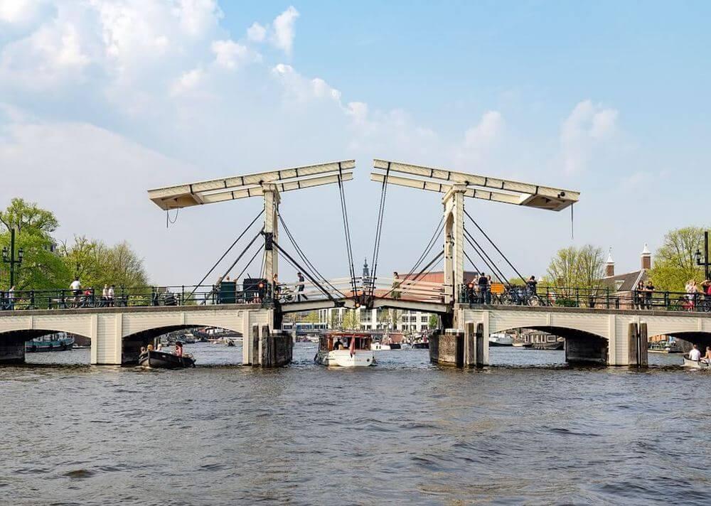 Een brug in Amsterdam
