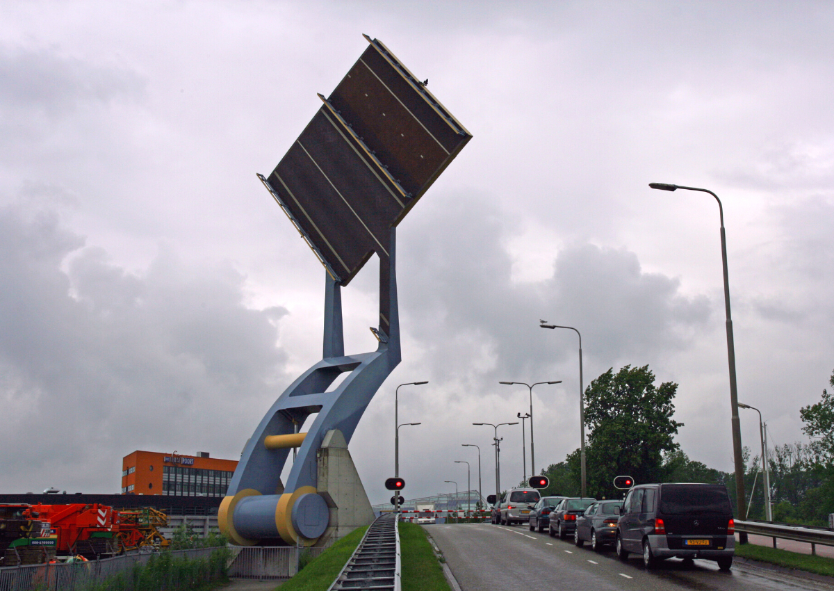 Slauerhoffbrug in Leeuwarden